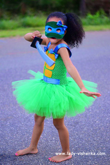 Halloween costumes for kids / girls - Turtle - Ninja