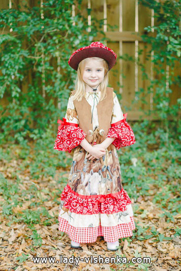 Halloween costumes for kids / girls - Wild Vest