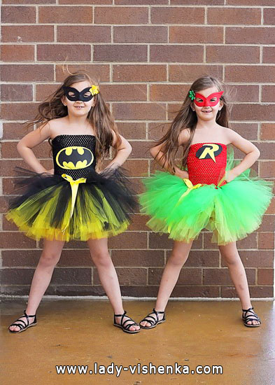 Kids Halloween - Batman Girl costume