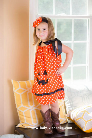 Kids - Halloween costumes for girls - Pumpkin