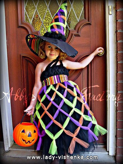 Kids Halloween - Witch costume