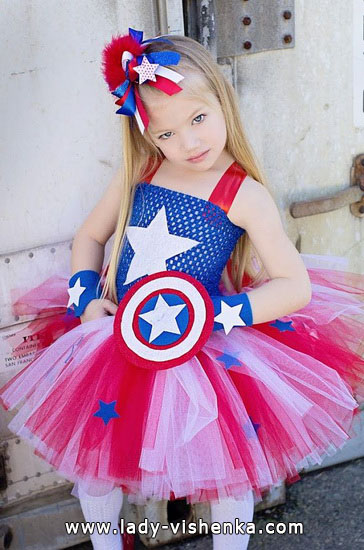Halloween costumes for kids / girls -  Super - girl