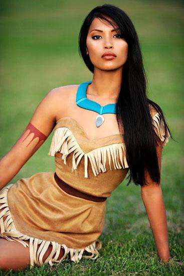 2. Pocahontas costume
