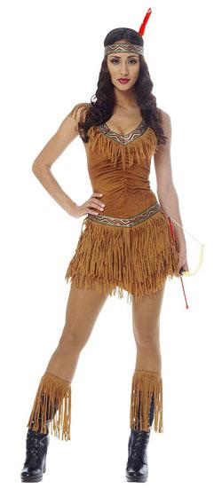 12. Pocahontas costume