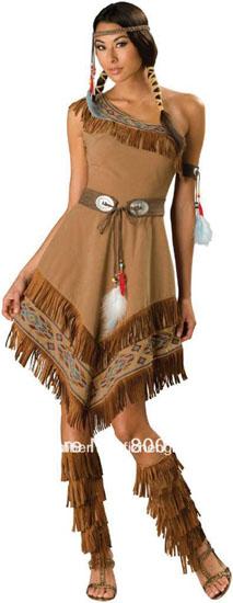 13. Pocahontas costume