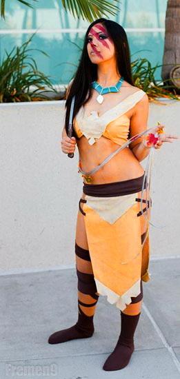 15. Pocahontas costume