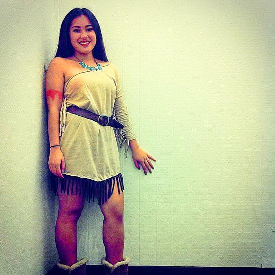 17. Pocahontas costume