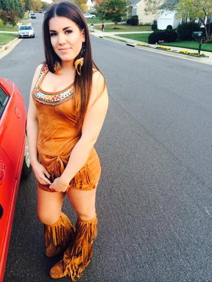 3. Pocahontas costume