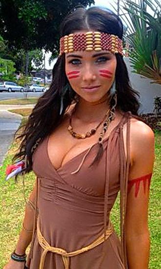 5. Pocahontas costume