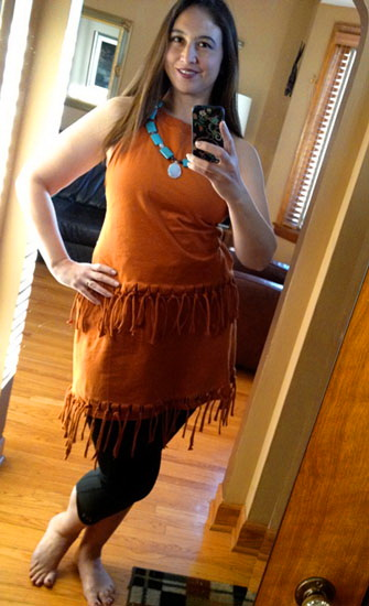 7. Pocahontas costume