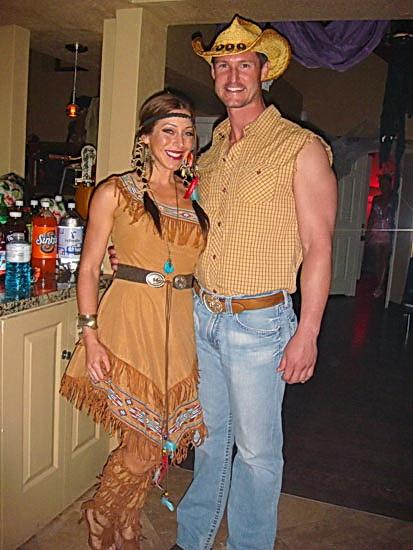 10. Pocahontas costume
