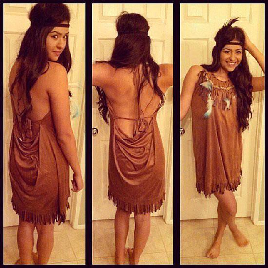 1. Pocahontas costume