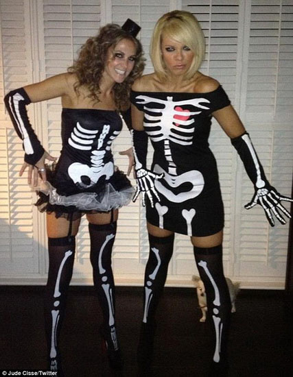 Women's skeleton costume