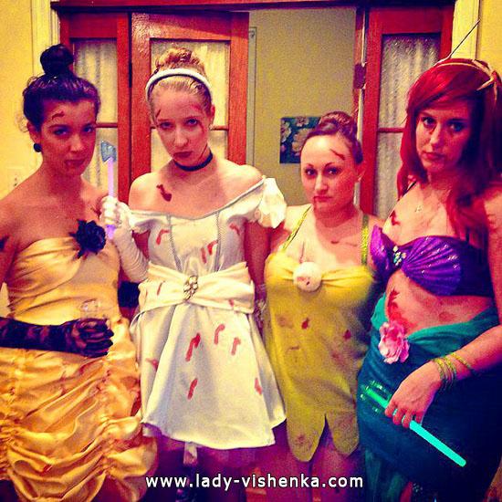 1. Halloween Disney Princess Costume