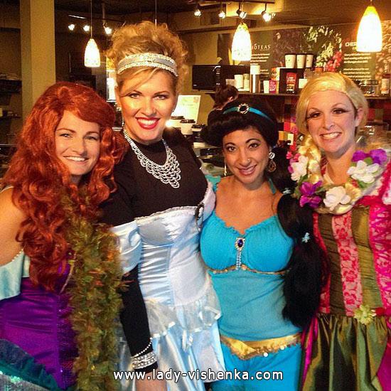 10. Halloween Disney Princess Costume
