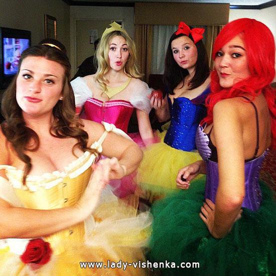 11. Halloween Disney Princess Costume