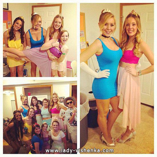 12. Halloween Disney Princess Costume