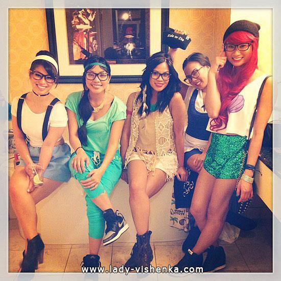 14. Halloween Disney Princess Costume