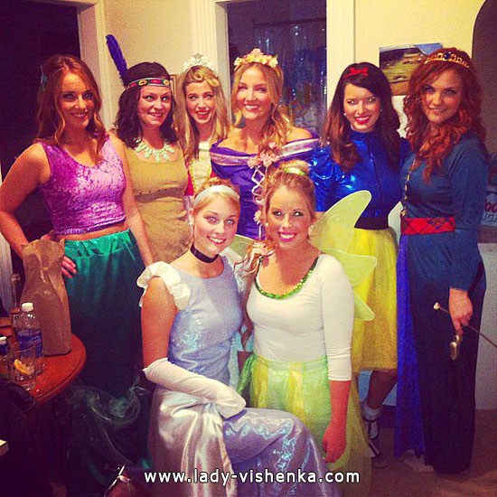 2. Halloween Disney Princess Costume