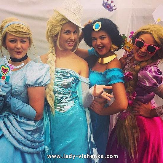 3. Halloween Disney Princess Costume