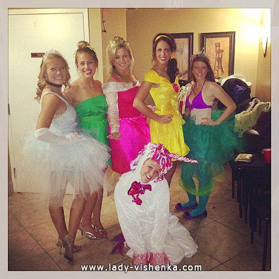 4. Halloween Disney Princess Costume