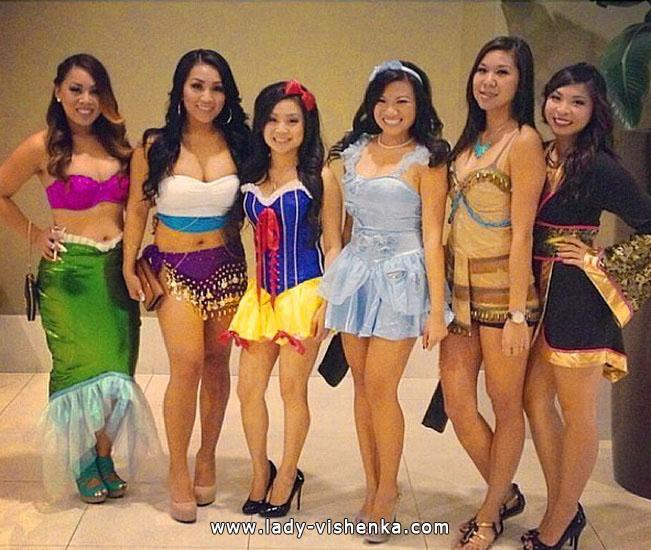 5. Halloween Disney Princess Costume