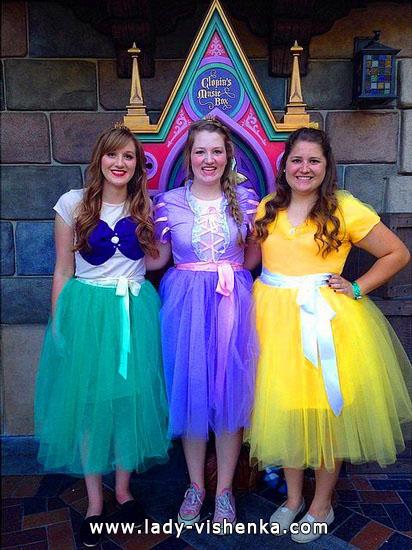 9. Halloween Disney Princess Costume