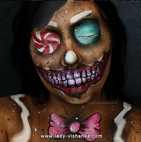 3. Halloween makeup