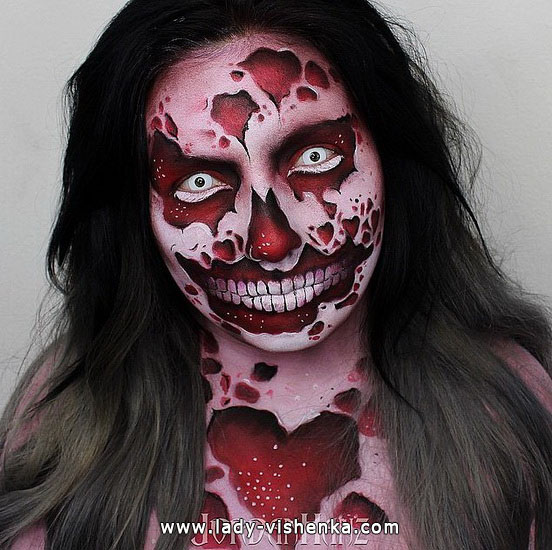 7. Halloween makeup