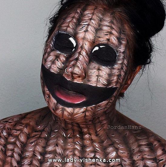 8. Halloween makeup