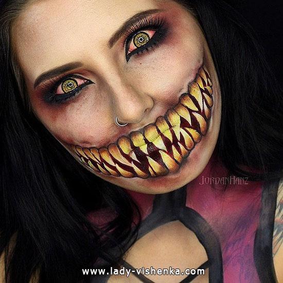 9. Halloween makeup