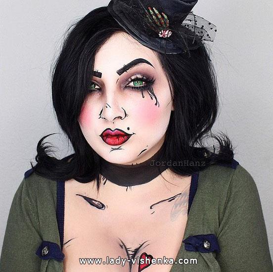 10. Halloween makeup