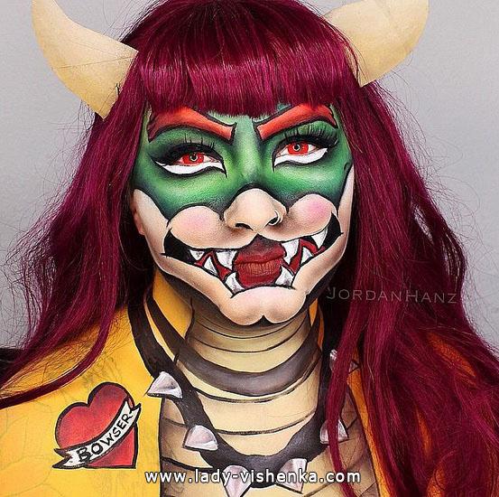 11. Halloween makeup