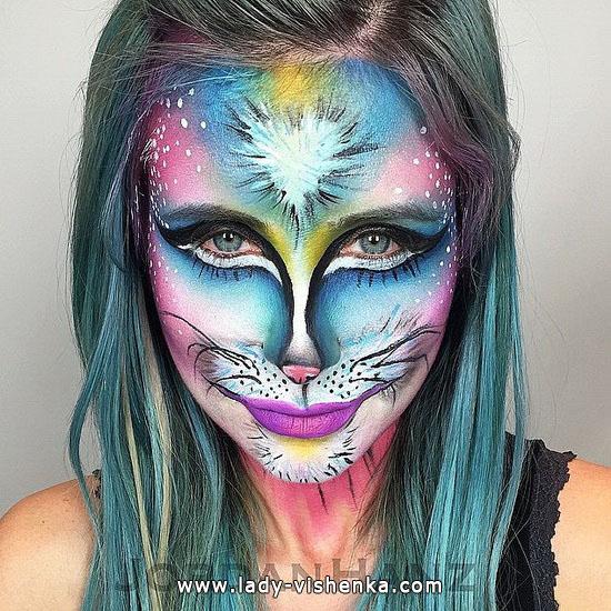 12. Halloween makeup