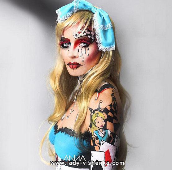 15. Halloween makeup