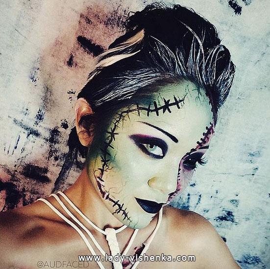 17. Halloween makeup