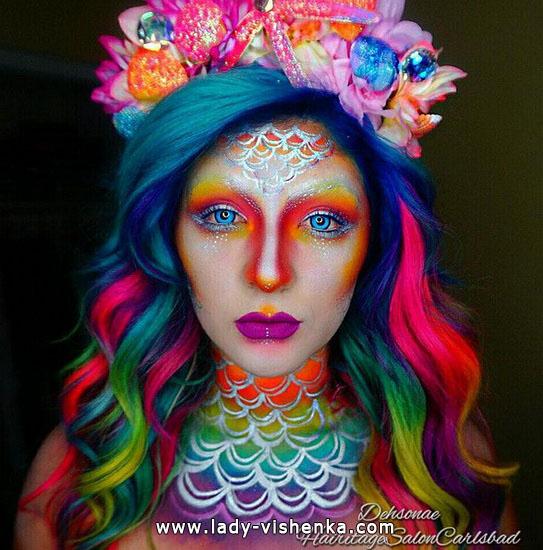 19. Halloween makeup