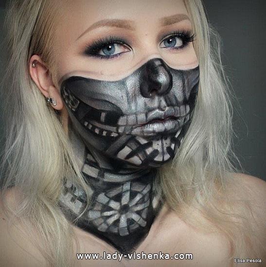 21. Halloween makeup