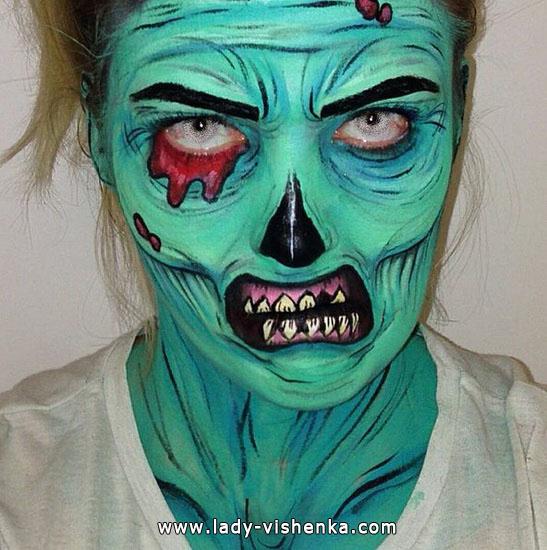 24. Halloween makeup