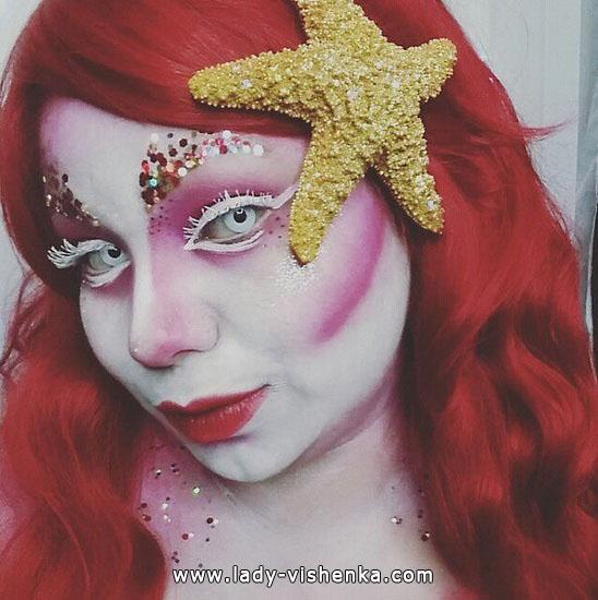 25. Halloween makeup
