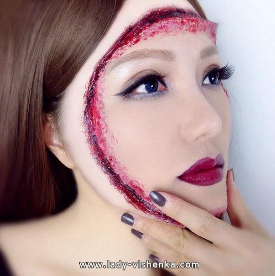26. Halloween makeup