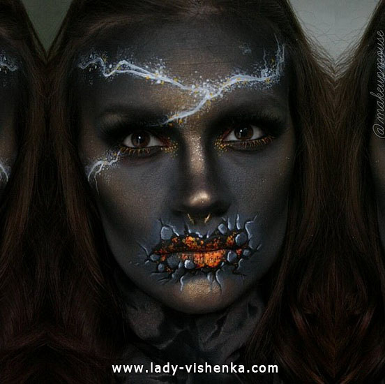 30. Halloween makeup