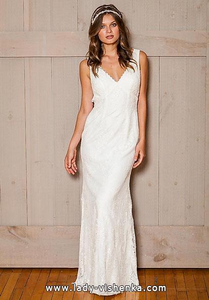 Direct lace wedding dress - David's Bridal
