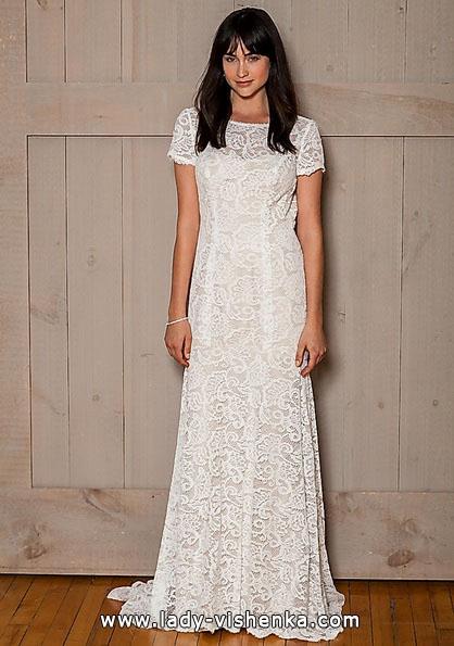 Direct lace wedding dress 2016 - David's Bridal