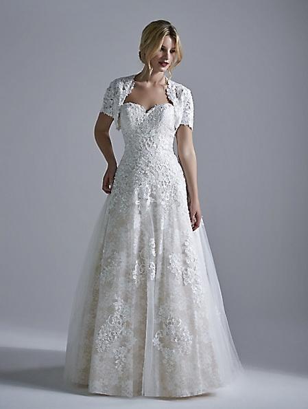 Long lace wedding dress 2016 - OPULENCE