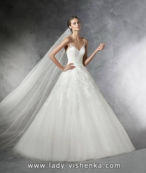 Wedding dresses lace dress - Pronovias