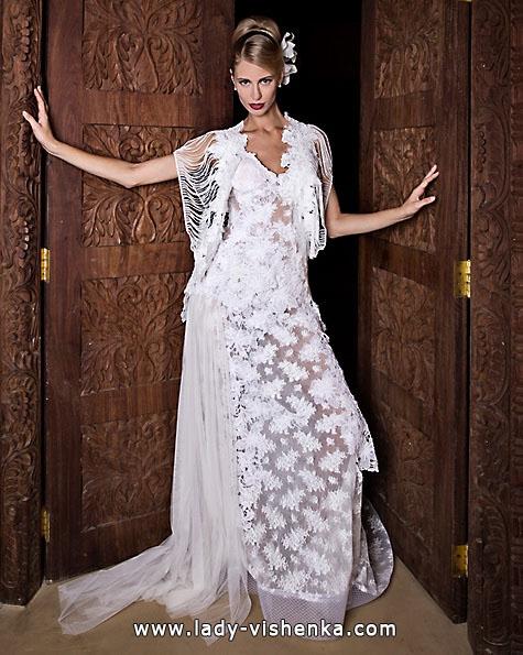 Wedding dresses with lace 2016 - Jordi Dalmau