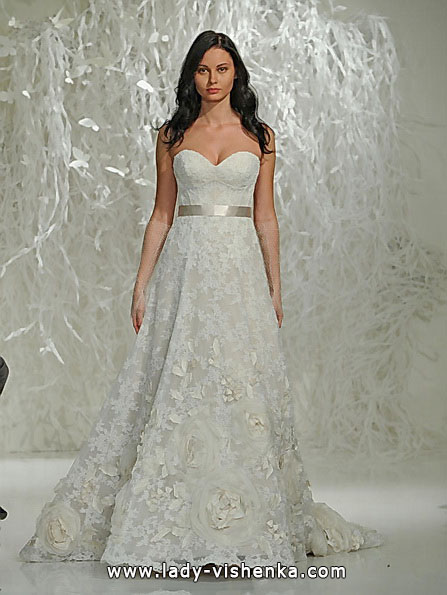Lace wedding dresses A-line - Watters