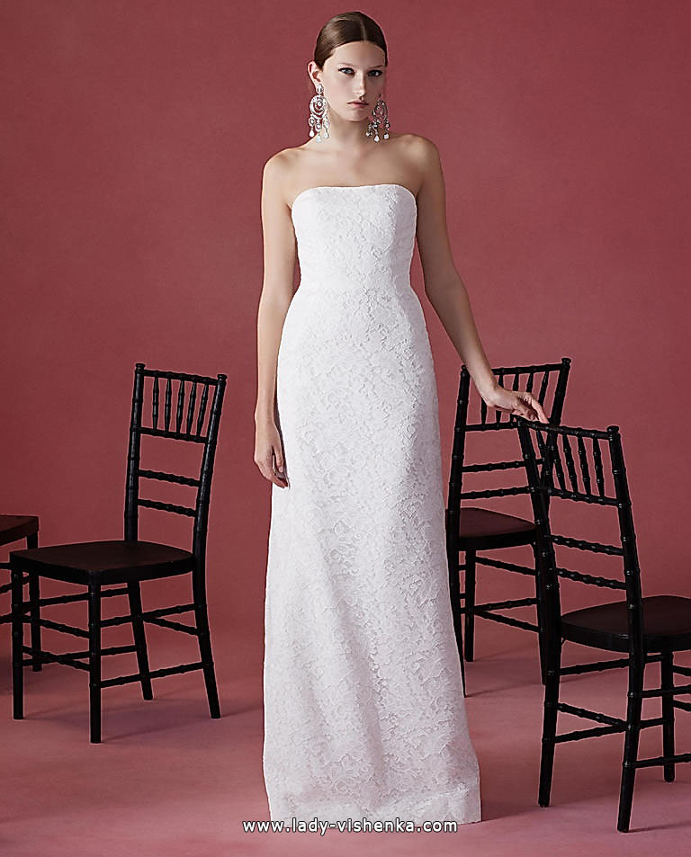 Direct lace wedding dress Oscar De La Renta