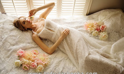 Кружевное свадебное платье 2016 - Olia Zavozina